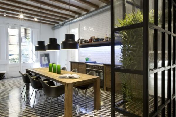 Перепланировка и дизайн интерьера квартиры в Санта Каталина