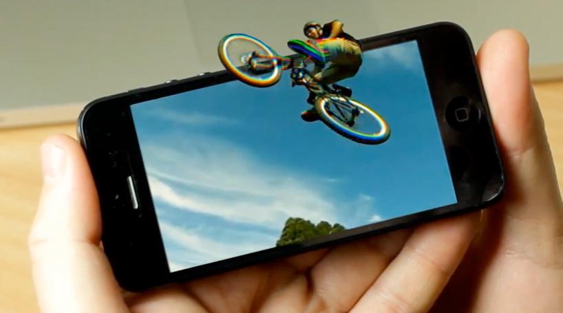 А у вашего телефона обычный экран или 3D?