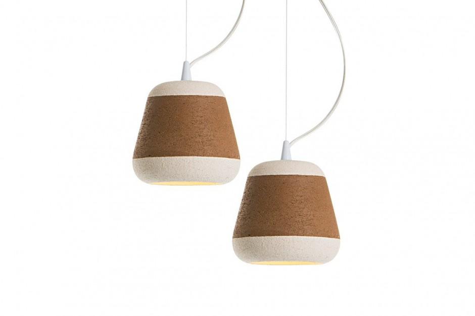Терракотовые лампы 'Olla' итальянского дизайнера Davide Giulio Aquini