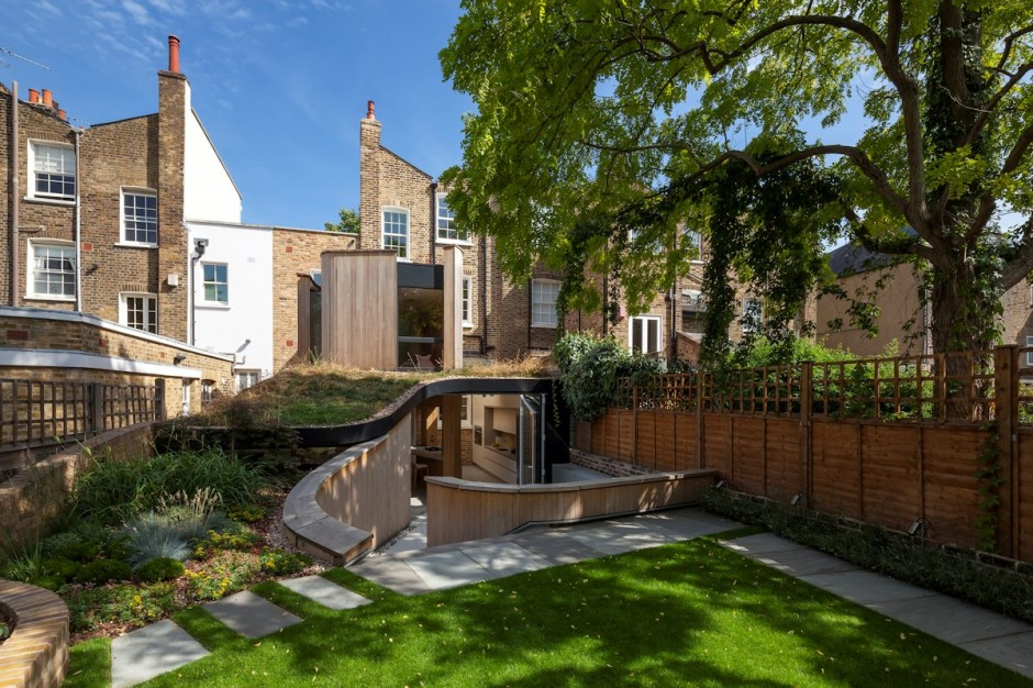 Реновация исторического лондонского таунхауса от Scott Architects